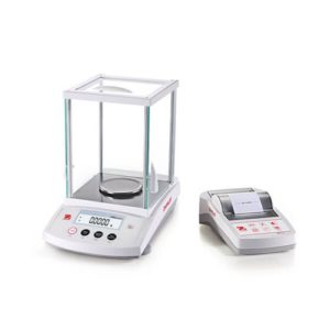 Ohaus PR Series scale with printer