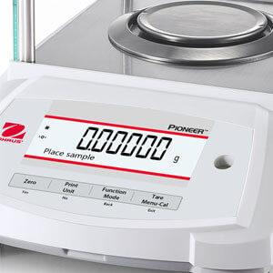 Ohaus Pioneer Semi-Micro display