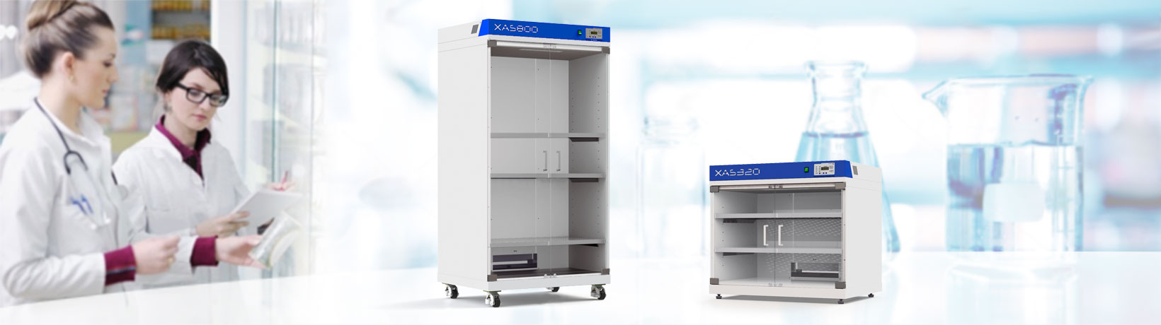 France Etuves glassware drying cabinets-xas
